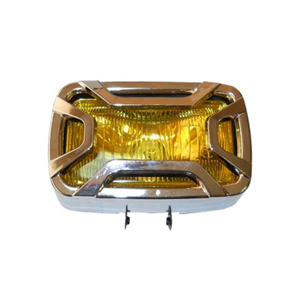 Фара противотуманная HT-88 желтая, 140х75мм, цена за 1 шт.