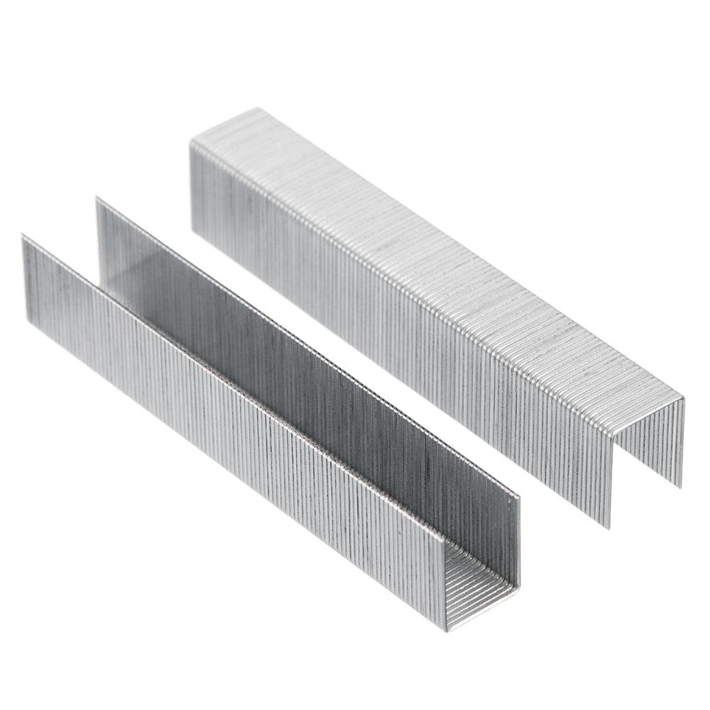 ЕРМАК Скоба закаленная 12мм (11,3х0,7мм) для мебельного степлера 1000шт.