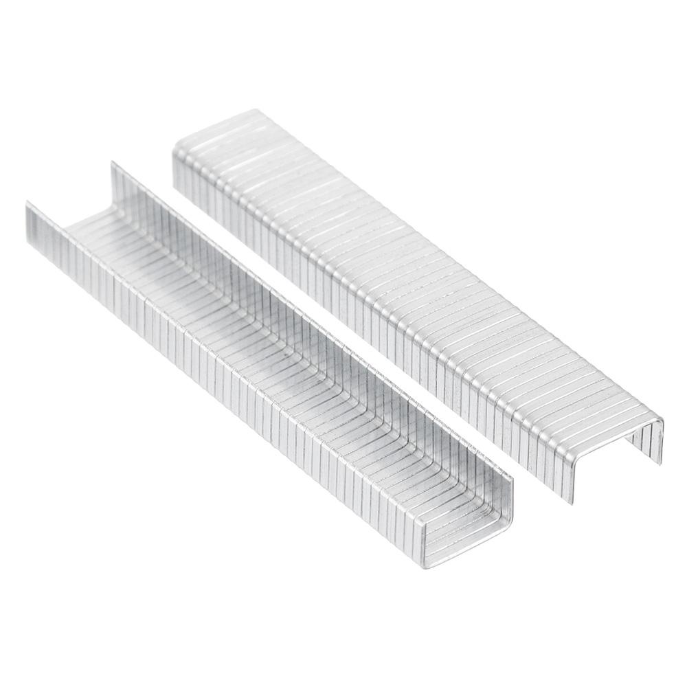 ЕРМАК Скоба закаленная 6мм (10,6х1,2мм) для мебельного степлера 1000шт.