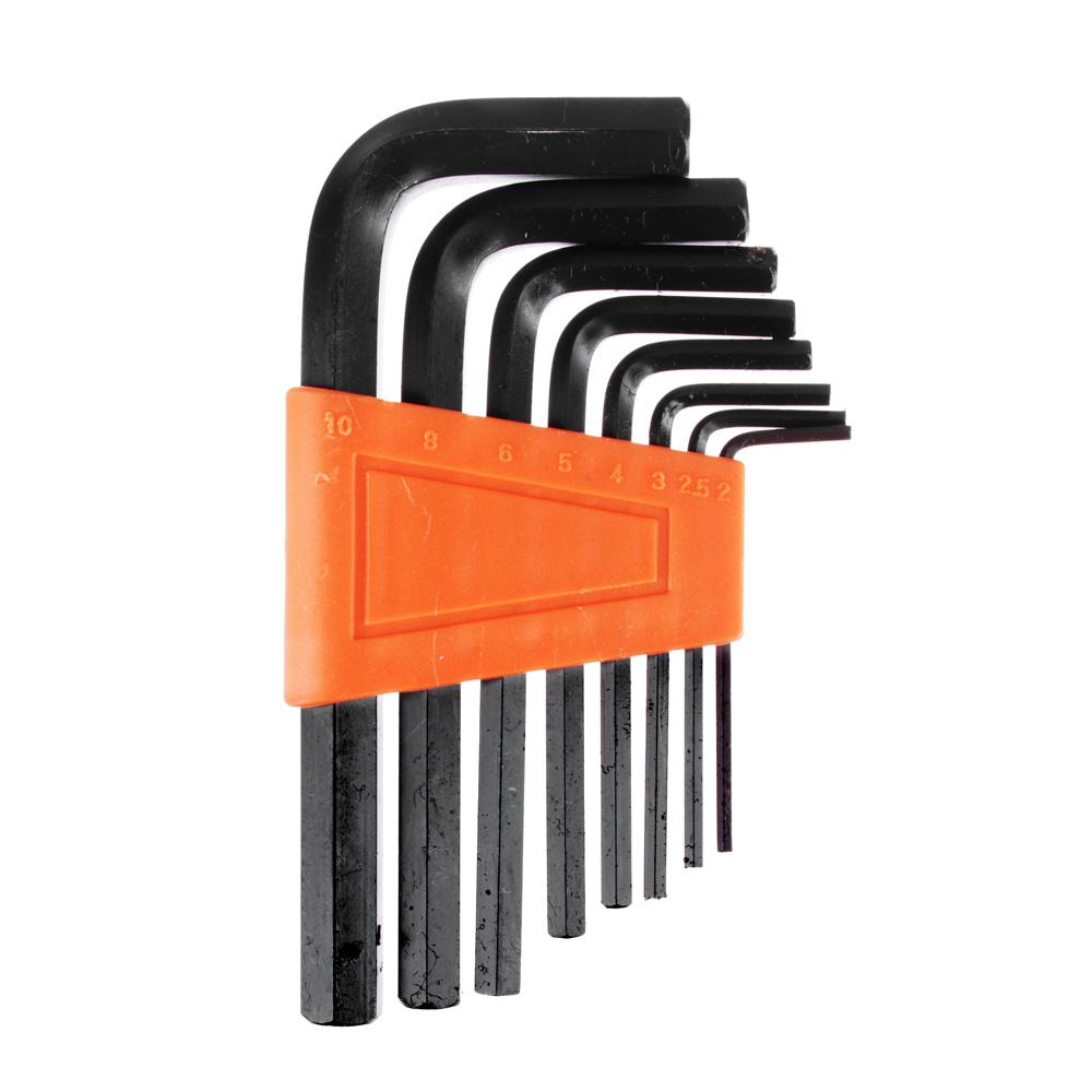 ЕРМАК Набор ключей - шестигранников 2,0-10мм, 8шт. (010)