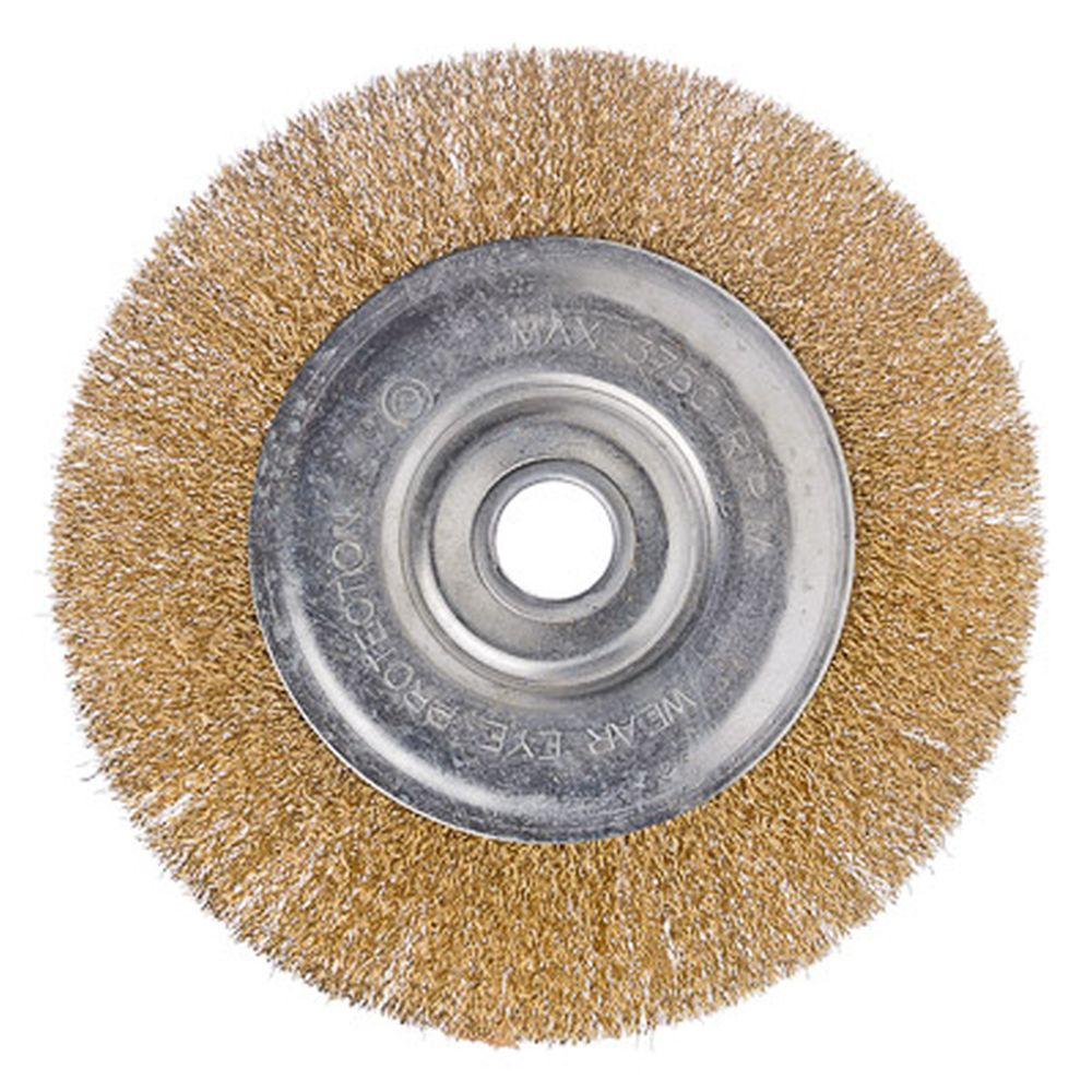 ЕРМАК Щетка металл. для УШМ 200мм/22мм, плоская