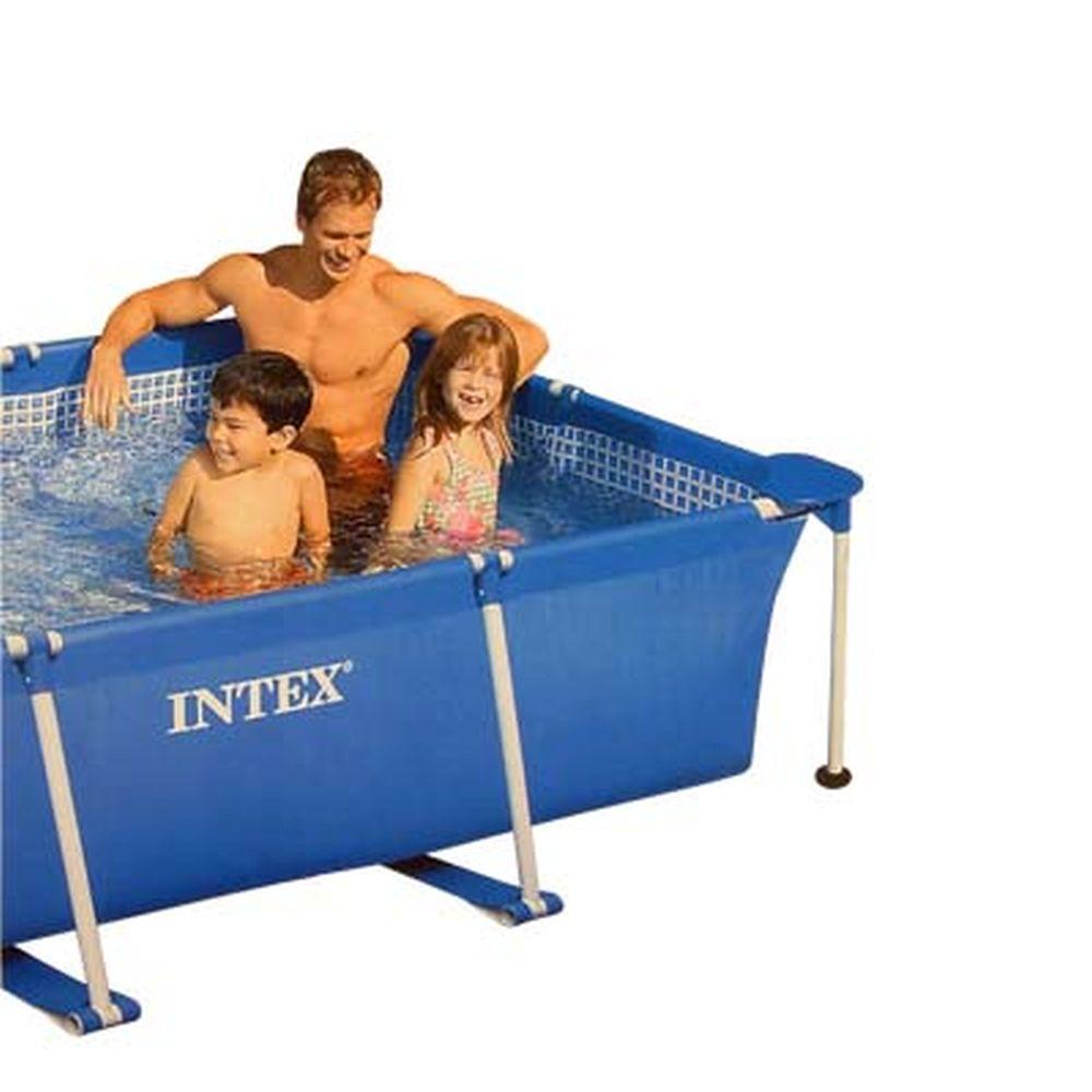 INTEX Бассейн каркас.прямоуг 260*160*65см 58980