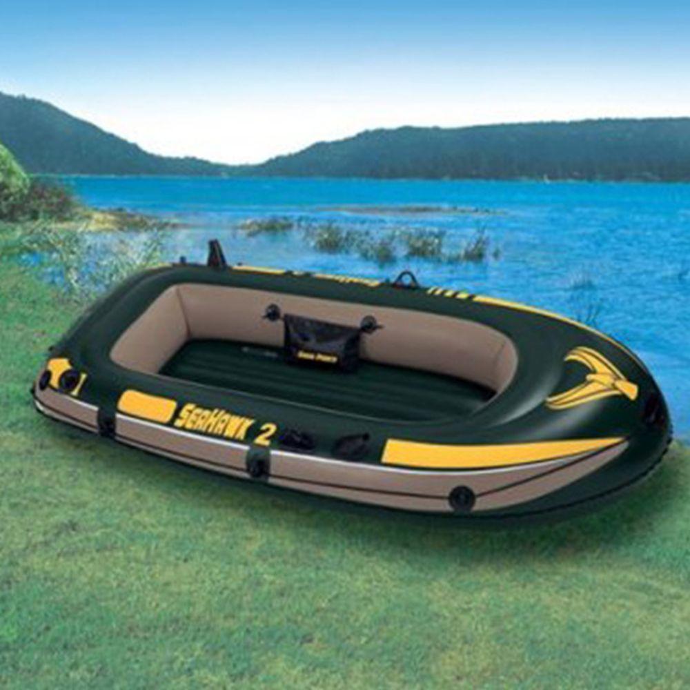 INTEX Лодка надувная Seahawk 2 3 камеры, 236x114x41см, до 200кг, леерный трос 68346