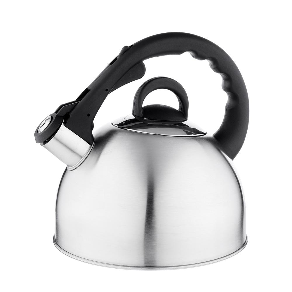 Чайник стальной, матовый, индукция, 3.0л, VETTA