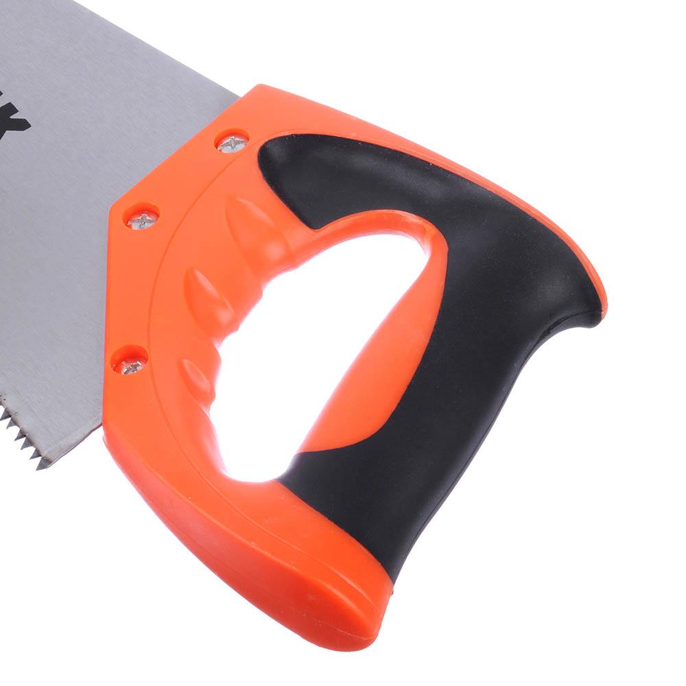 ЕРМАК Ножовка по дереву, двустор.заточка, 350мм, закаленный зуб