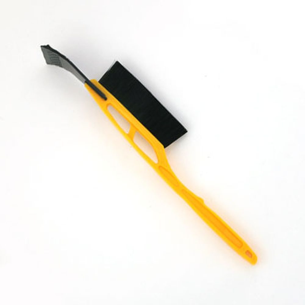 NEW GALAXY Щетка сметка+скребок IP 101, желтая, 54 см