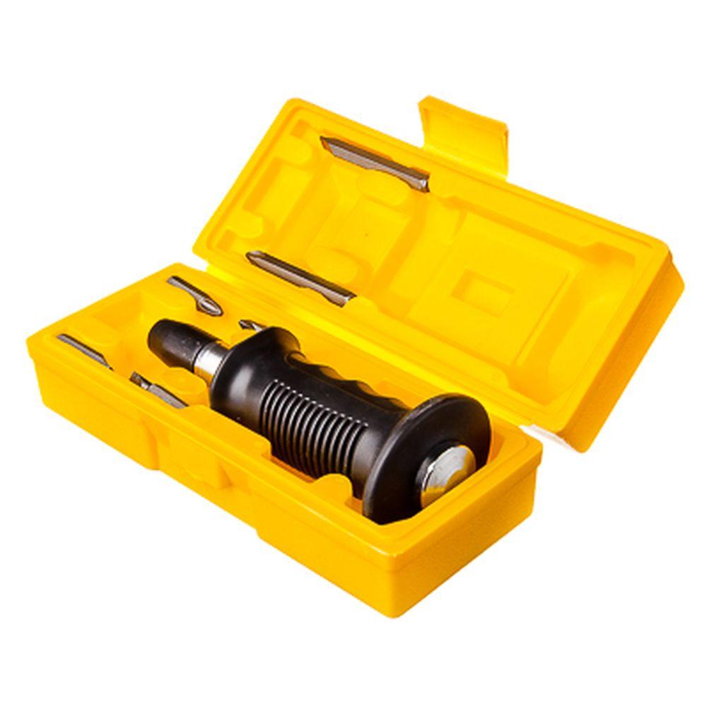 ЕРМАК Отвертка ударно-поворотная PROFI с резиновой ручкой