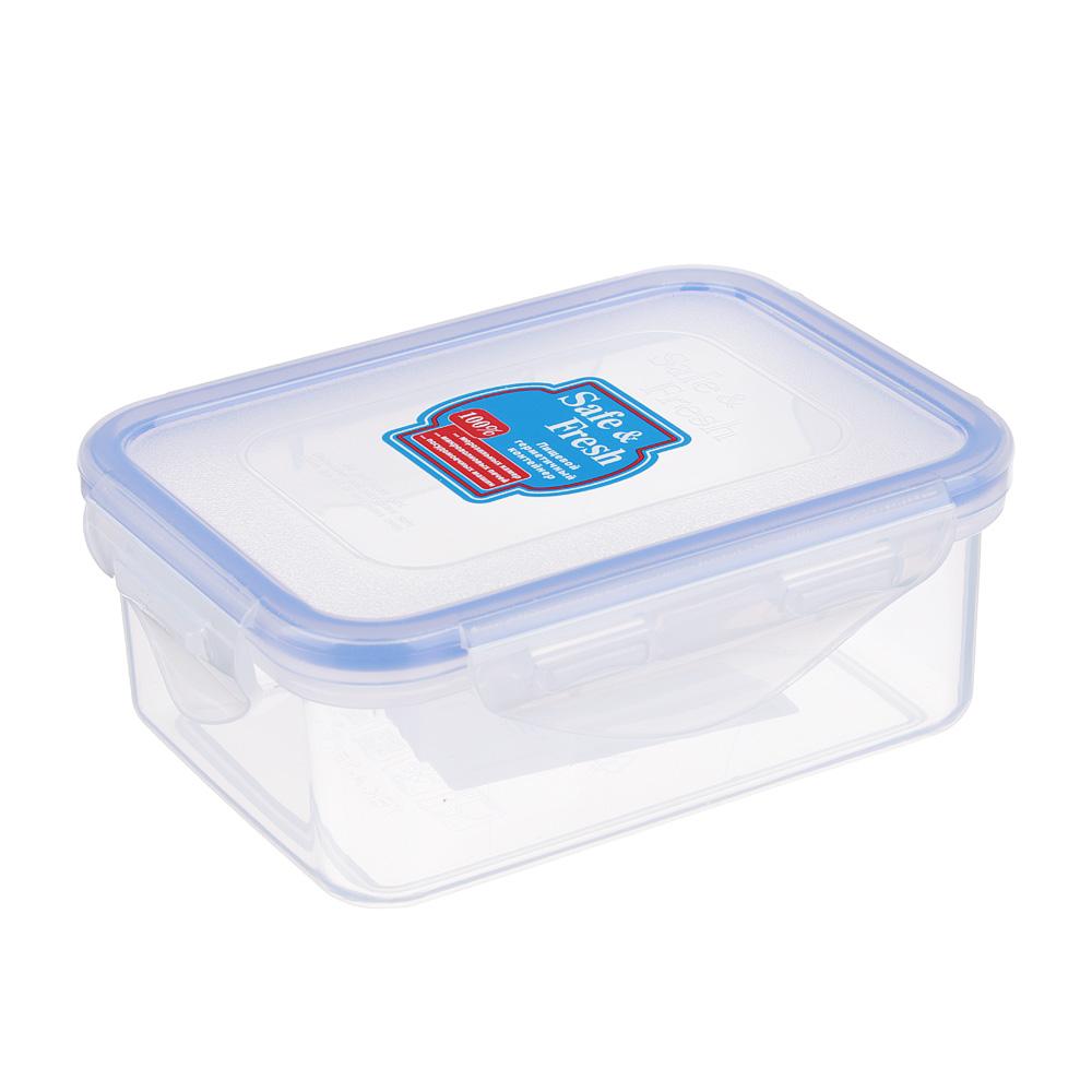 ТЕК Контейнер пищевой с защелками 350мл. 10,2х13,5х5,2см. SF2-1 К112