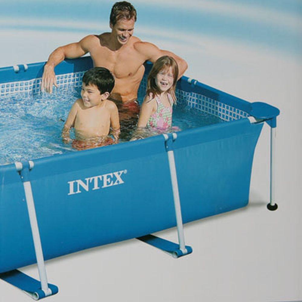 INTEX Бассейн каркас.прямоуг 220*150*60, 58983