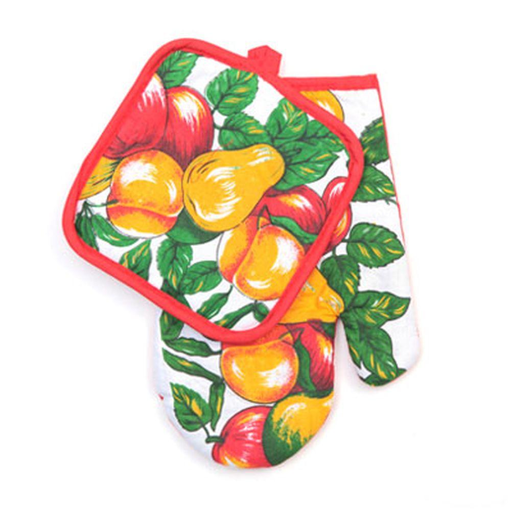 Набор кухонный 2 пр. (варежка+прихватка), 0686-3