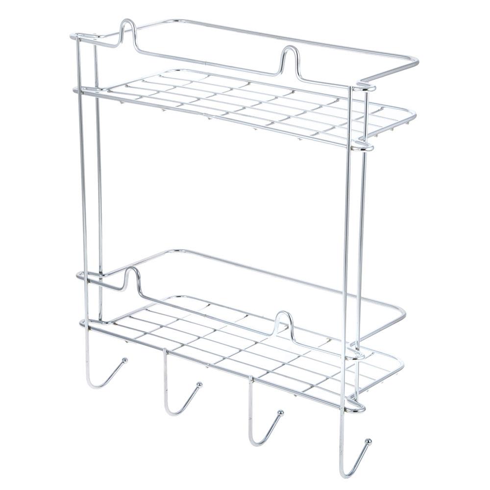ARTEX Полка настенная двойная с крючком Slim арт.27 10 34