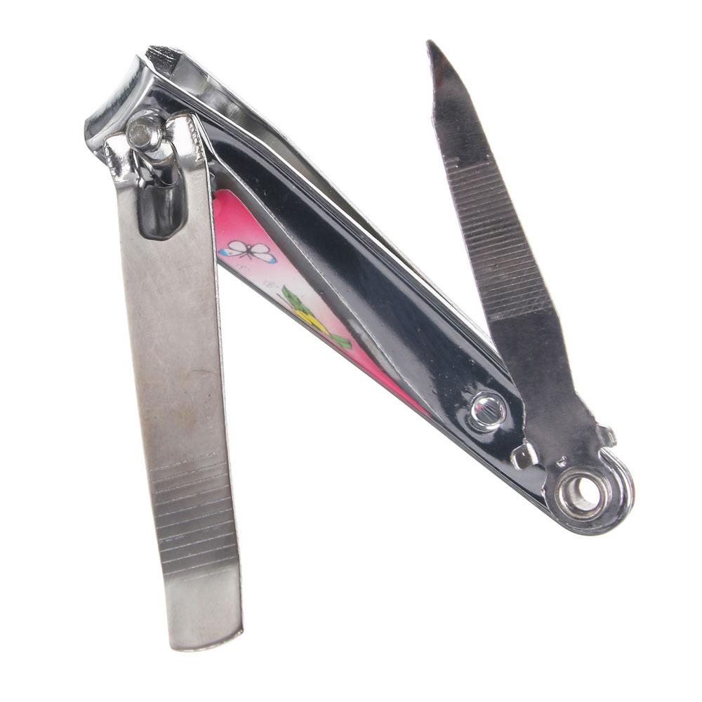 Книпсер для ногтей, металл, 7,5см, 0818