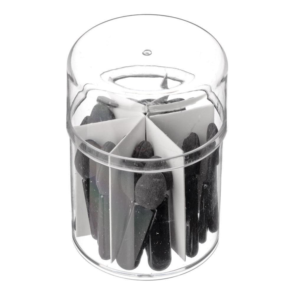 Набор аппликаторов 2-х сторонние 25шт, пластик, 4см, 114#