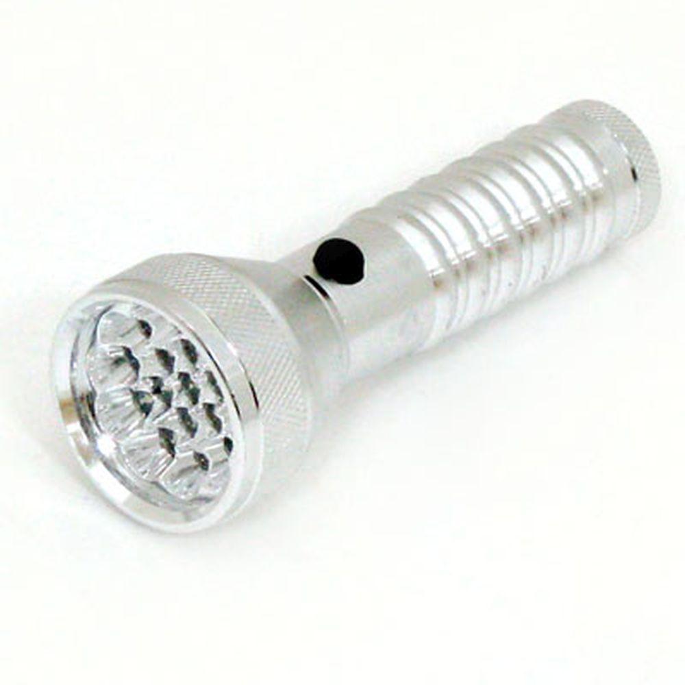 Фонарик металл со светодиодами 026G-21С 21LED 3R3