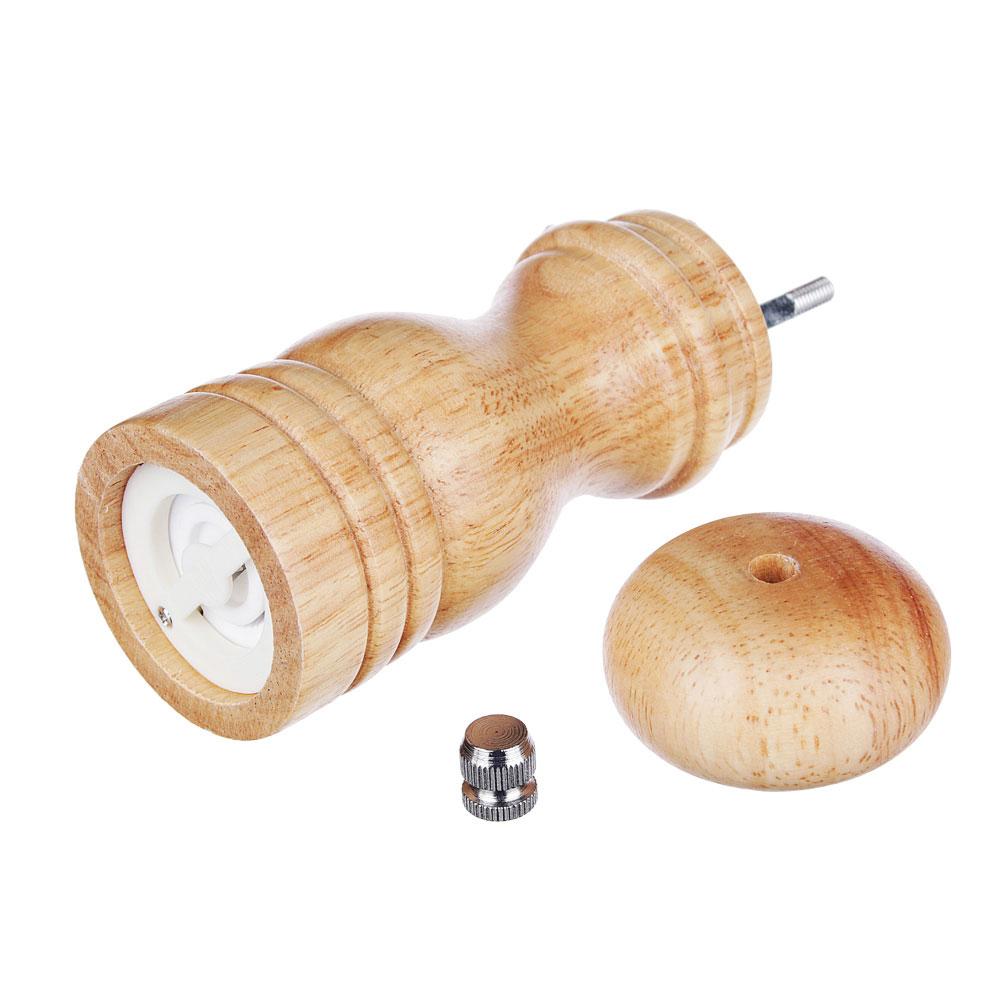 Мельница для специй деревянная 14 см VETTA