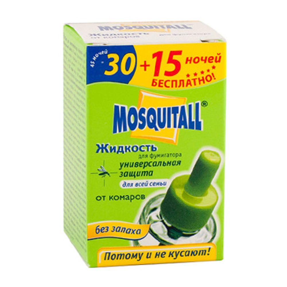 МОСКИТОЛ Жидкость от комаров Универ. защита 45 ночей