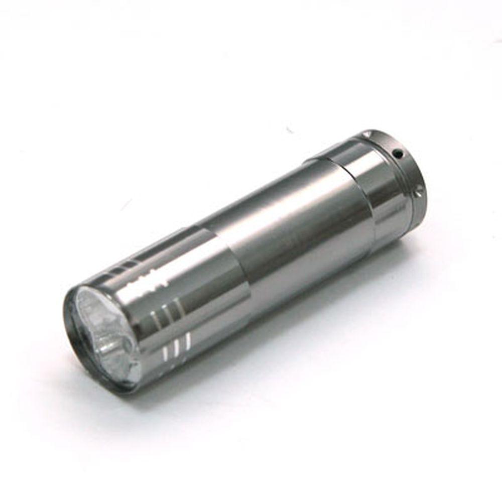 РУССО ТУРИСТО Фонарь 3LED, 8х2,2см, металл, 3R3, BL159A-3С