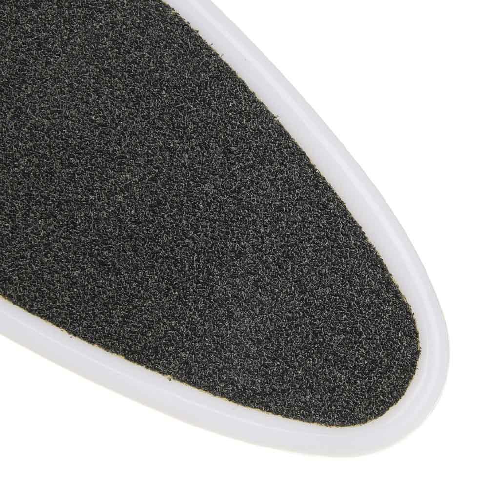Терка для ног 2-x сторонняя с абразивной поверхностью, пластик, 22,4см, С-24
