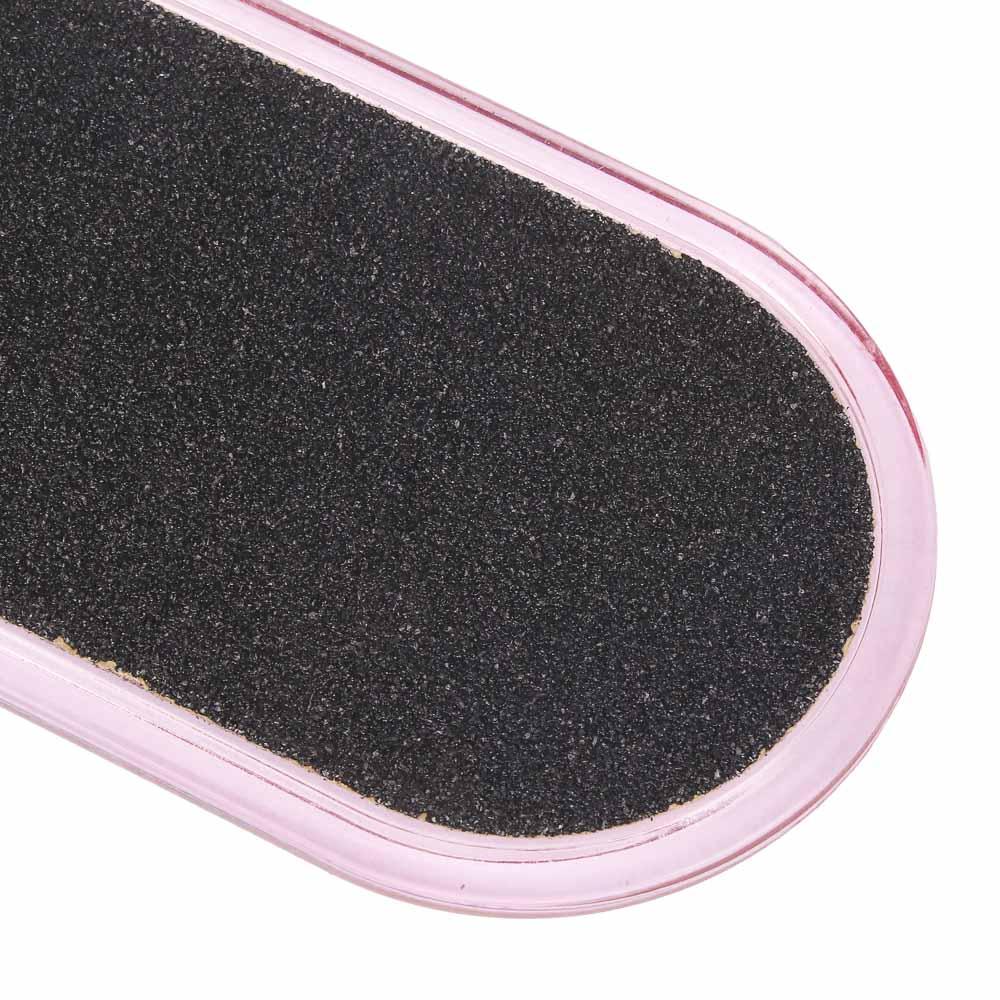 Терка для ног 2-х сторонняя, 26см, наждачная основа, пластик, C-25