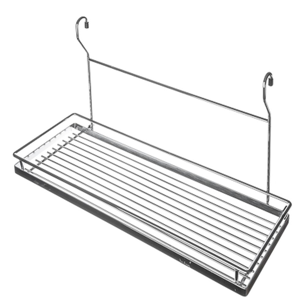 Полка на рейлинг одинарная 45x18,5x28 см, VETTA CWJ203
