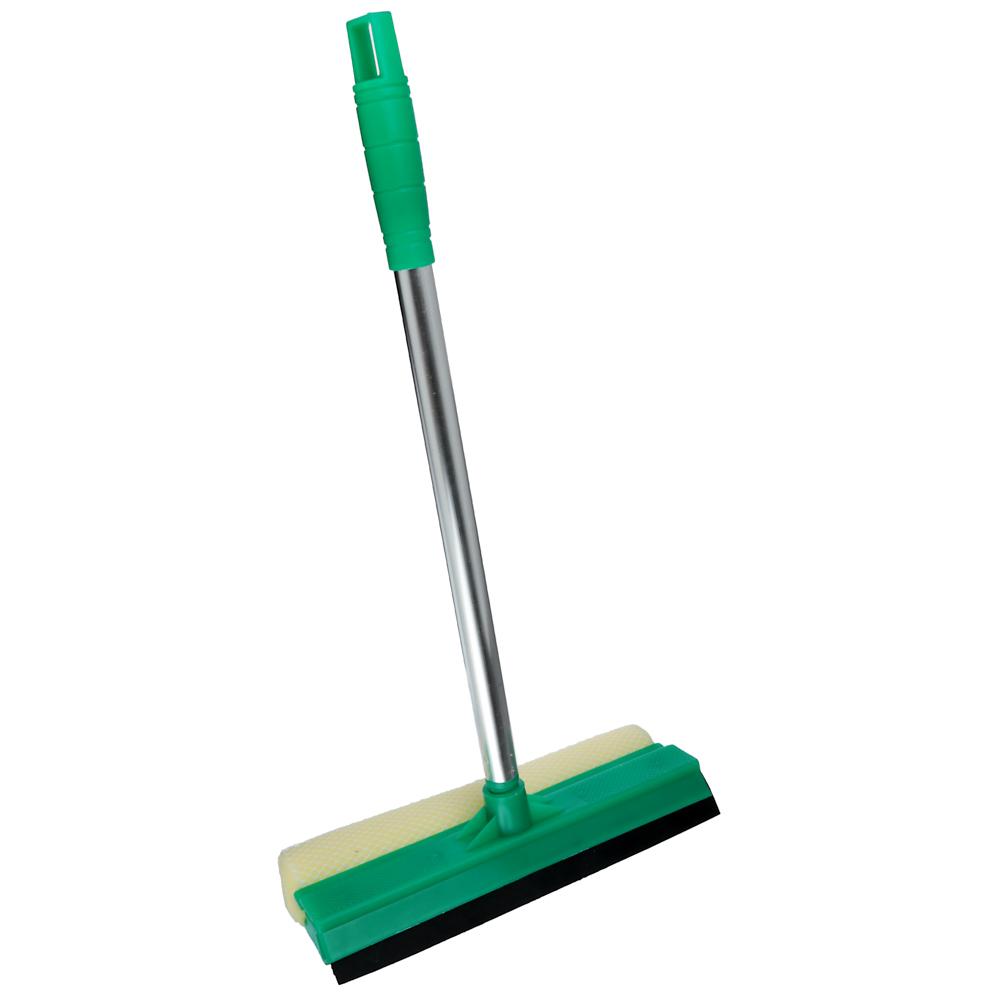 VETTA Окномойка со стальной ручкой 25см, зеленая, арт.KFC002
