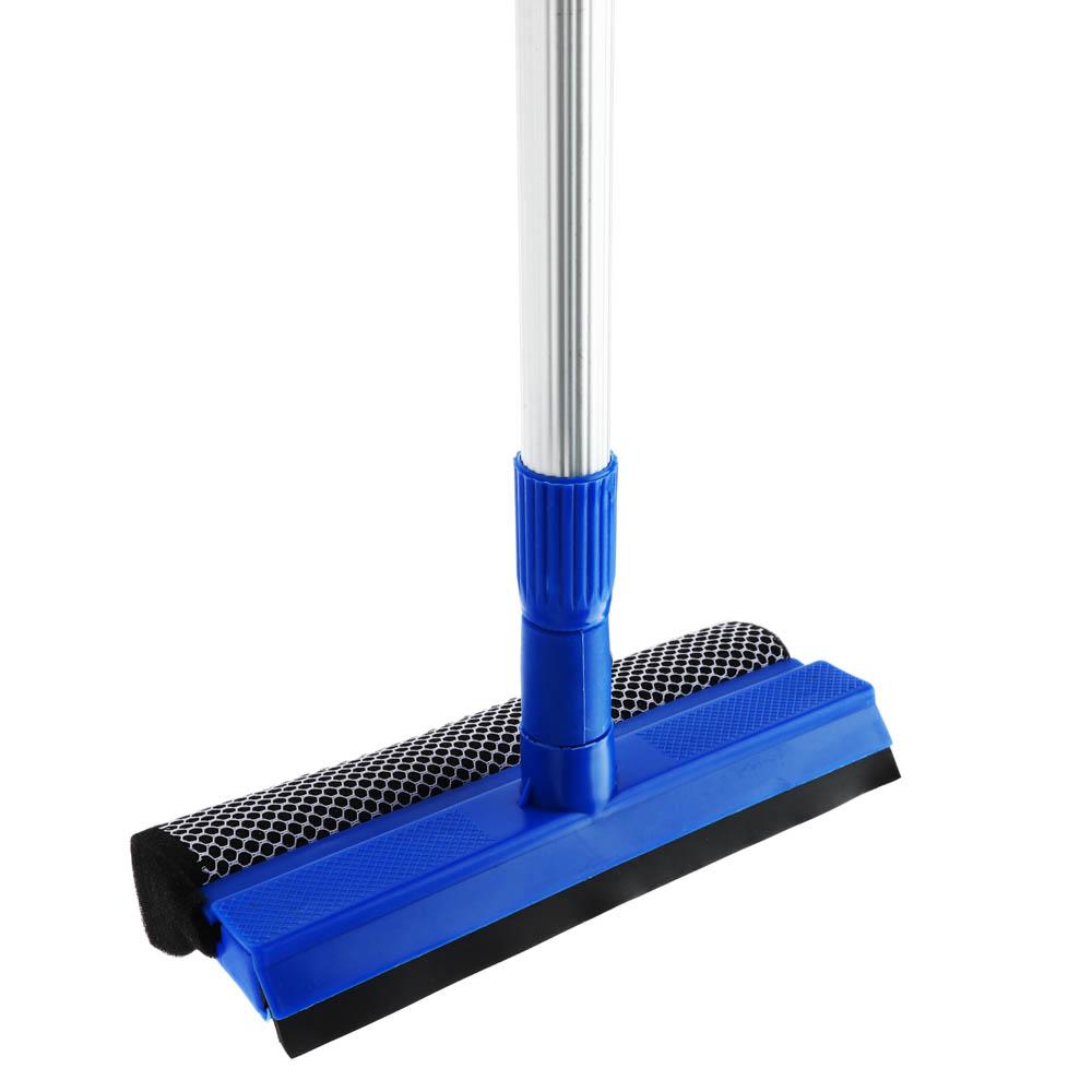 VETTA Окномойка с телескопической ручкой 110см, синяя, арт.KFC004