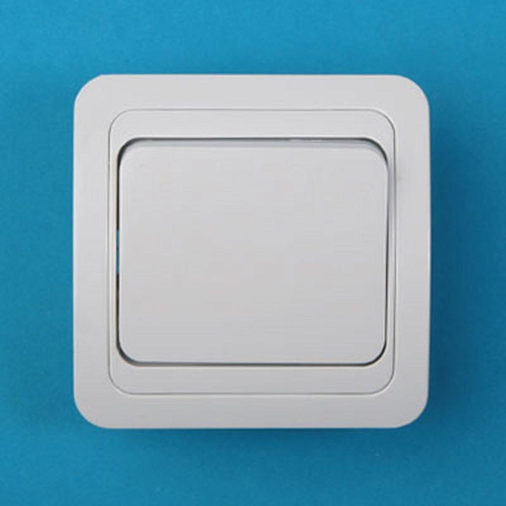 Выключатель одноклавишный, основание керамика, 10А 250В Classic 2021 PowerMan