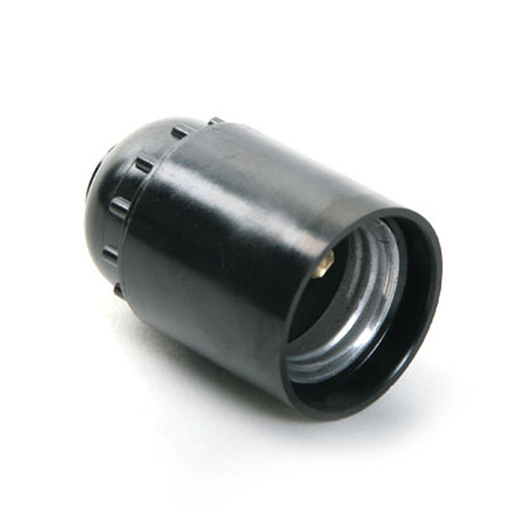 Патрон подвесной карболитовый Е27 4А 250В РМ03 (Н12) PowerMan