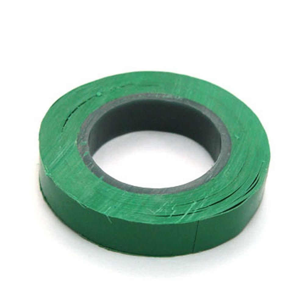 Изолента, ПВХ, в/с, зеленая, шир. 15+-2 мм, 7,5 м, толщ 0,2 мм, ЕРМАК