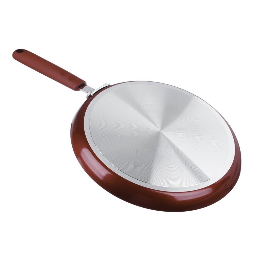 """Сковорода блинная, антипригарное покрытие, d25 см, SATOSHI """"Редс"""""""