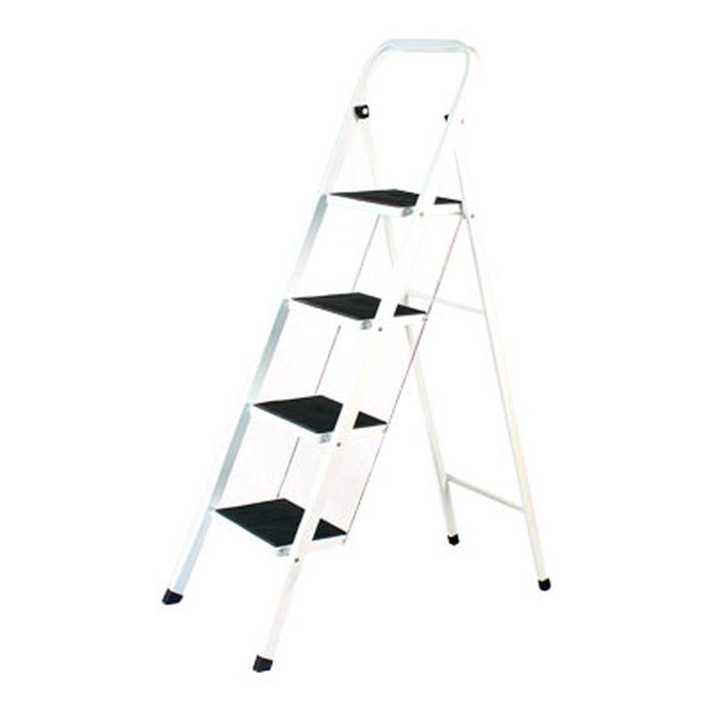 VETTA Стремянка для дома с антискольз. ступенями 4 ступ. высота 93см макс нагрузка 150кг. вес 7,66кг