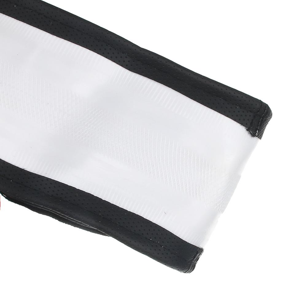 NEW GALAXY Оплетка руля, спонж, 5 подушек, черный, разм. (М)