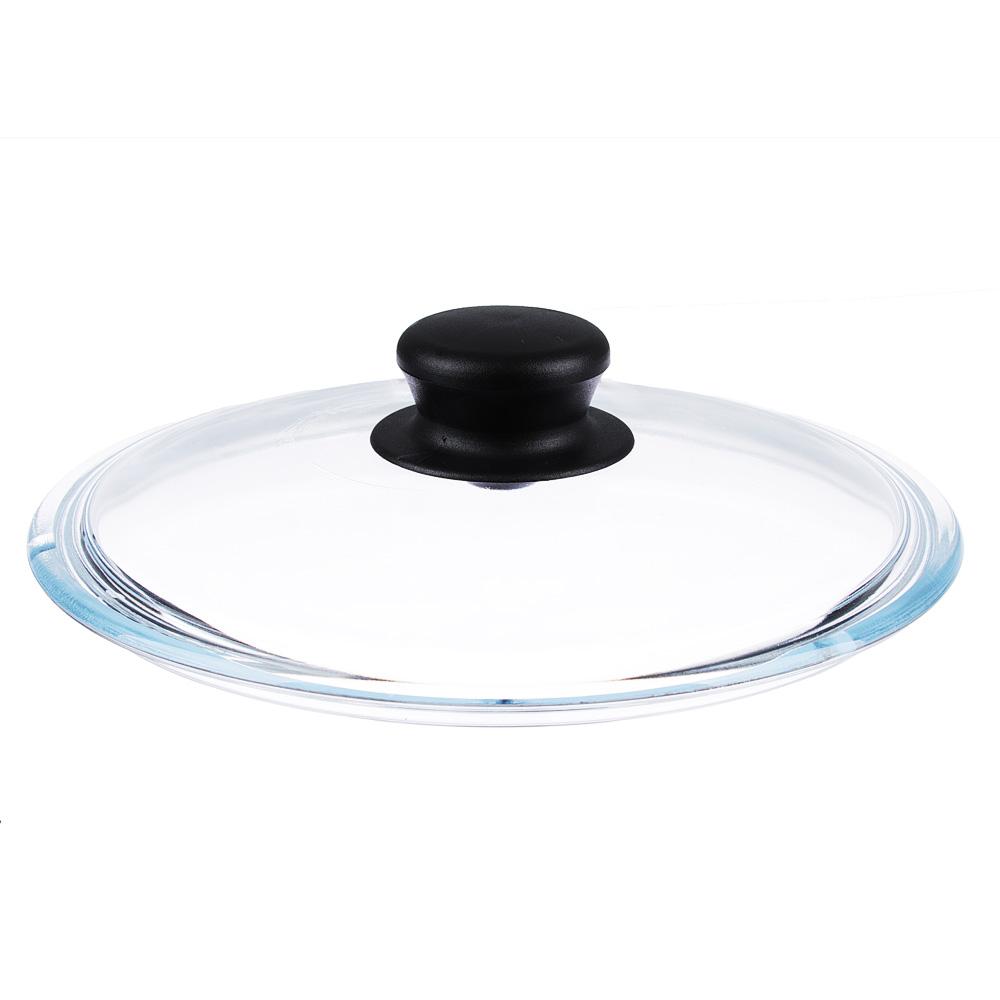 Крышка для сковороды стеклянная с ручкой VGP, 28 см