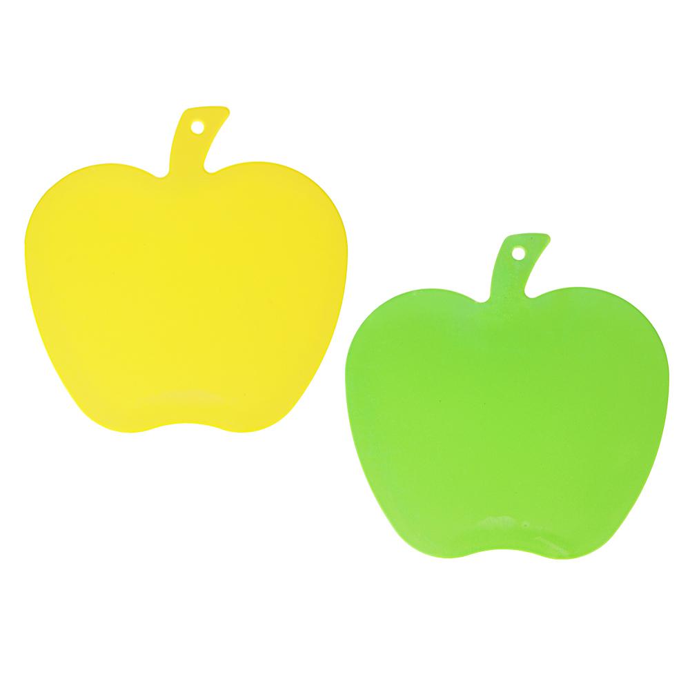 Доска разделочная в форме яблока VETTA, пластик, 26x25x0,3 см