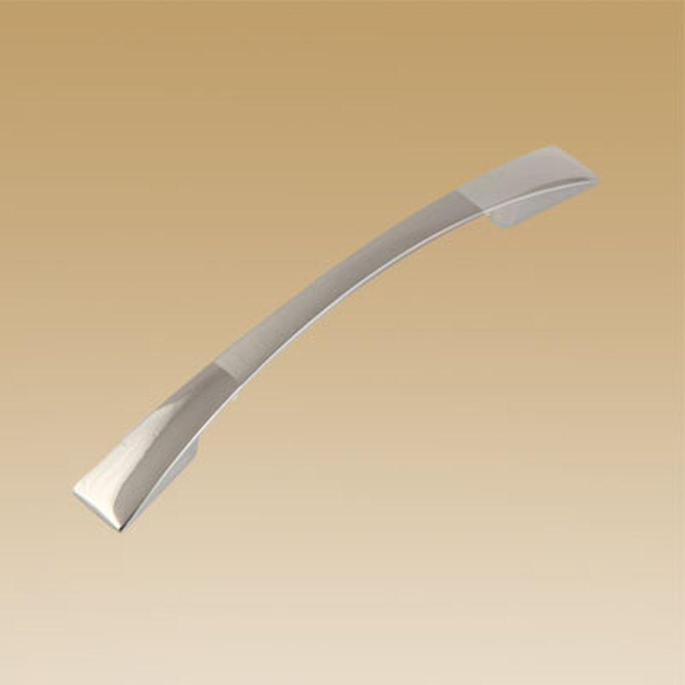 Ручка мебельная 2058-96 мат. хром / хром