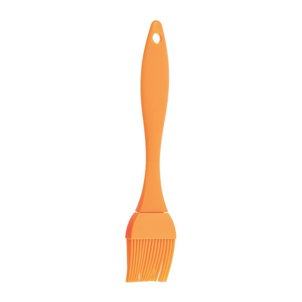 Кисточка кондитерская силиконовая оранжевая Практик VETTA