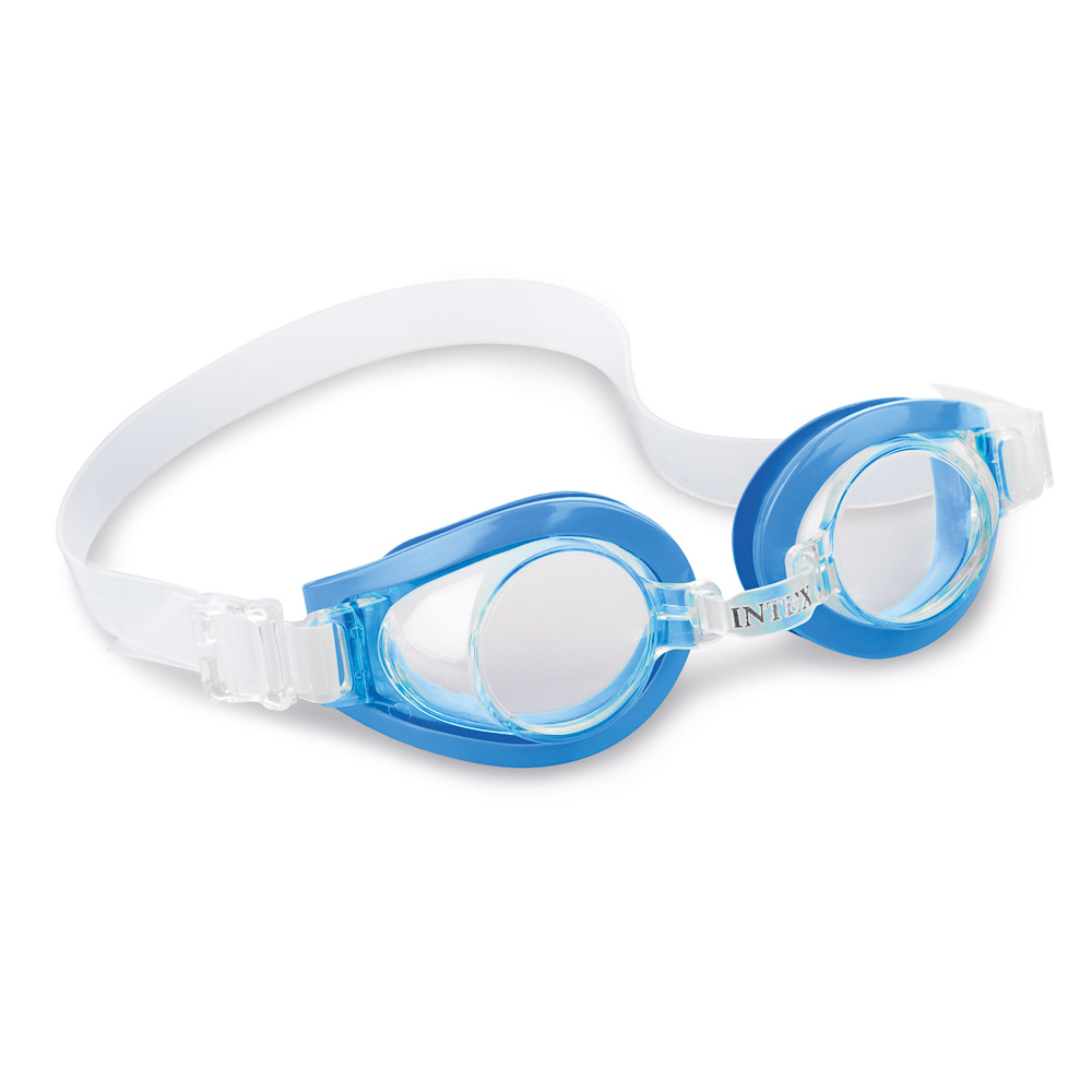 """Очки для плавания, возраст от 3 до 8 лет, 3 цвета, INTEX """"PLAY"""", 55602"""