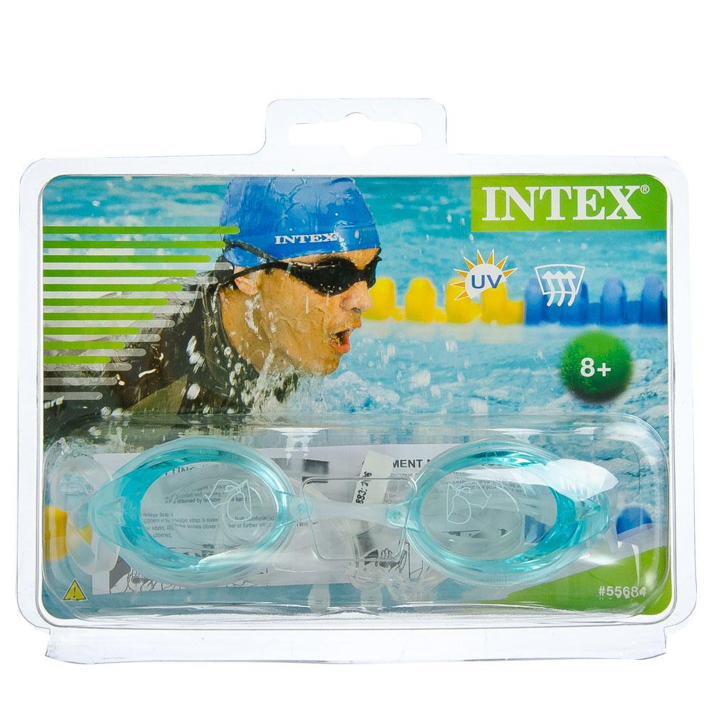 "Очки для плавания, возраст от 8 лет, 3 цвета, INTEX ""Sport Relay"", 55684"
