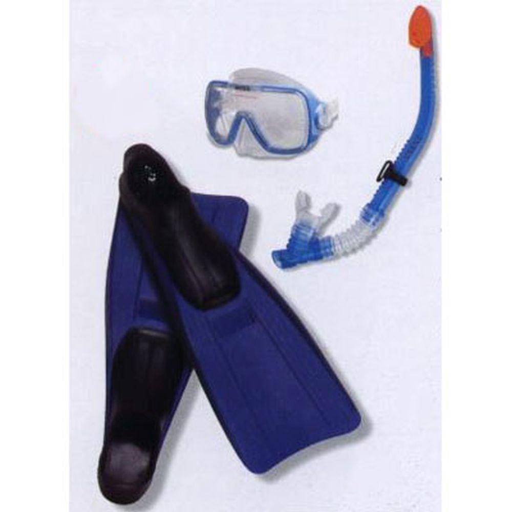 INTEX Набор для ныряния (маска, трубка, ласты р.38-41), 55958