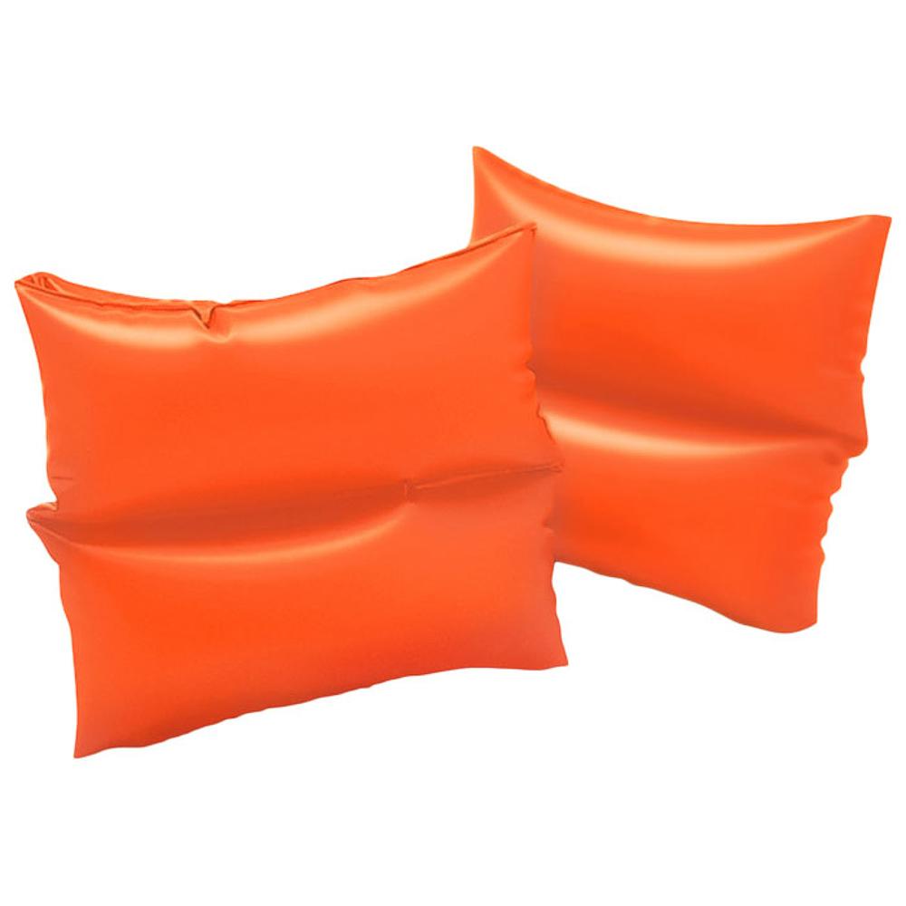 Нарукавники INTEX 59640 от 3 до 6 лет, цвет: оранжевый
