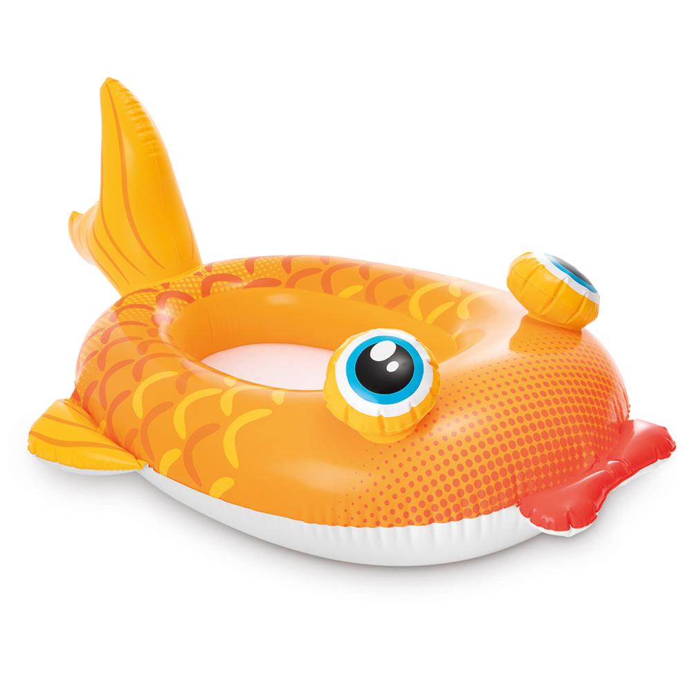 Надувная лодка для детей INTEX 59380 107х69см для 3-6 лет, 3 вида