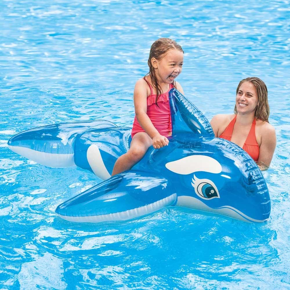 Игрушка надувная для плавания, рем.комплект, 152х114 см, возраст от 3лет, INTEX Касатка, 58523
