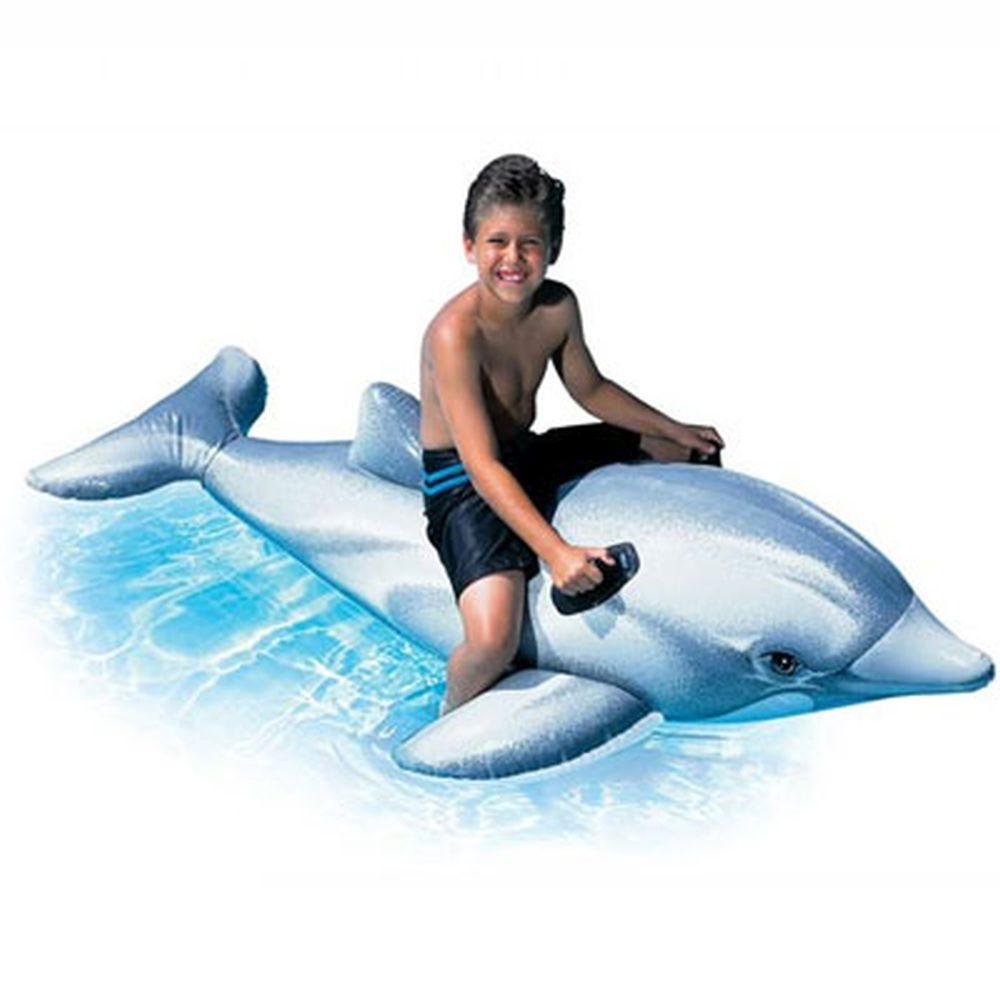 Надувная игрушка-наездник INTEX 58535 Дельфин от 3 лет