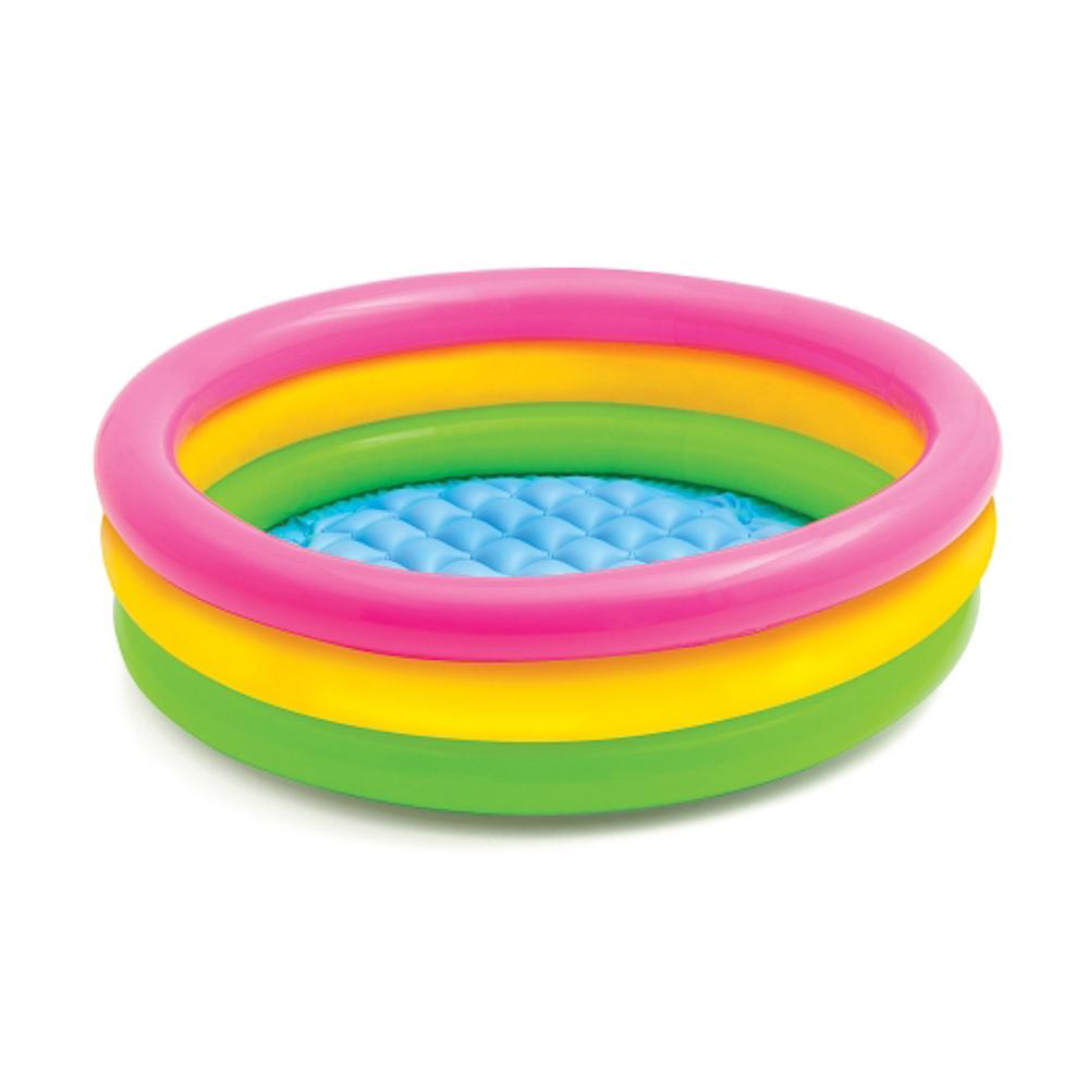 Надувной бассейн для детей INTEX 58924 Радуга 86x25 см от 1 до 3 лет