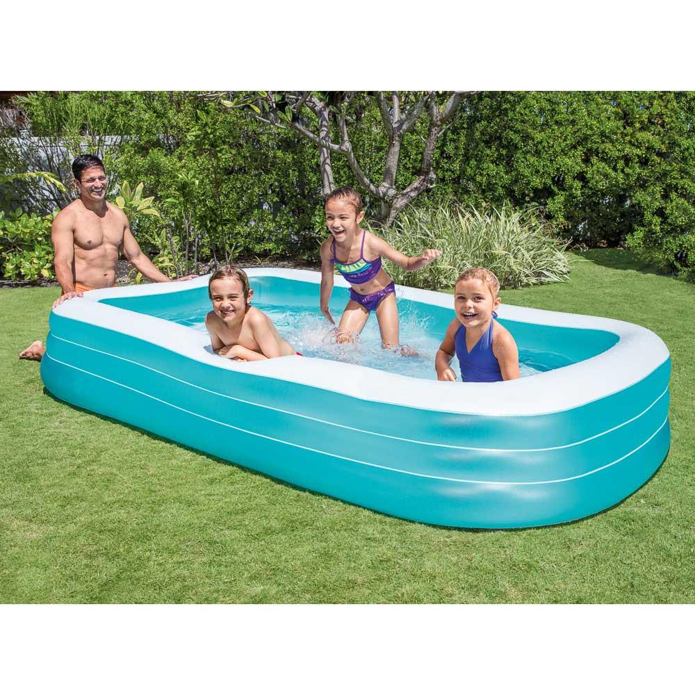 Бассейн надувной, 999 л, рем.комплект, 305х183х56 см, возраст от 6 лет, INTEX, 58484