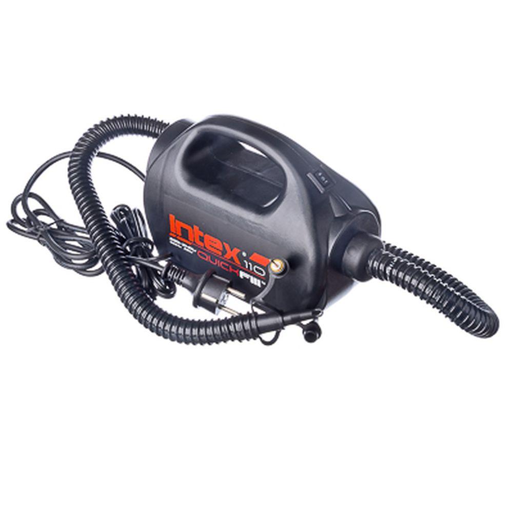 Насос электрический двух скоростной, 3 насадки, 220 В, 12В, INTEX , 68609
