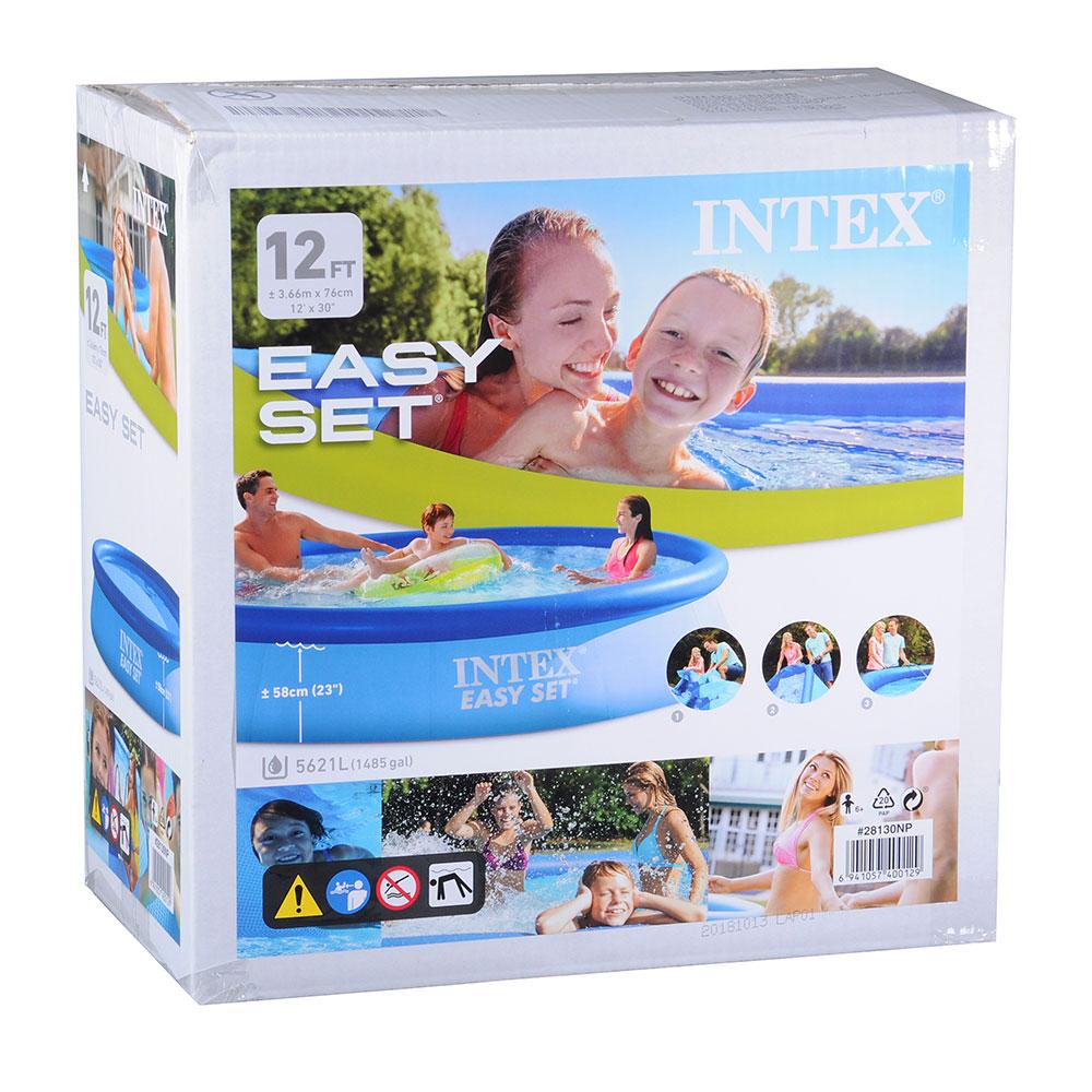 Бассейн надувной Intex Easy Set 28130