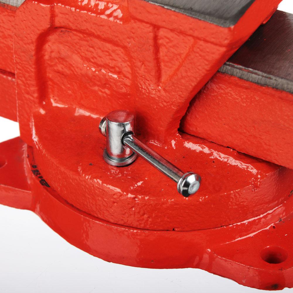 ЕРМАК Тиски слесарные с поворотным механизмом 100мм