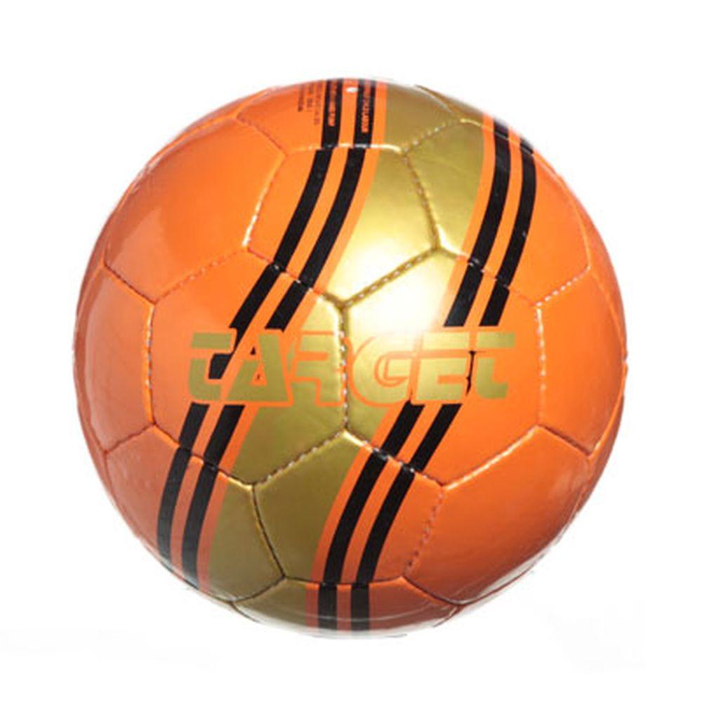 "Мяч футбольный 5"" Target, shiny latherite 350гр, 2010/26ABCD"