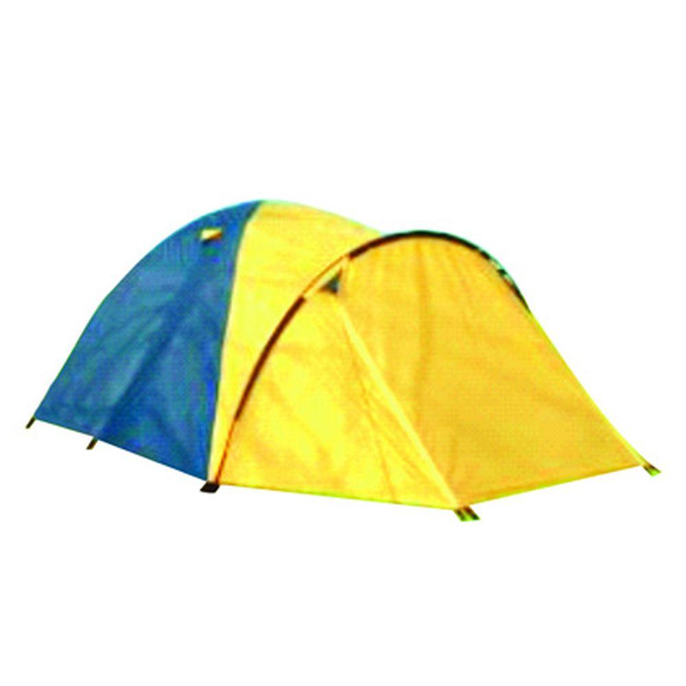 Палатка 3-мест., 2-сл., 205+95x180x120см, (190 Т PU 800мм/170Т, тр. фб 7,9мм, дн.PE), NX-T010